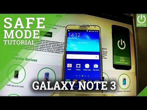 SAMSUNG Galaxy Note 3 Safe Mode / Enter & Quit Safe Mode