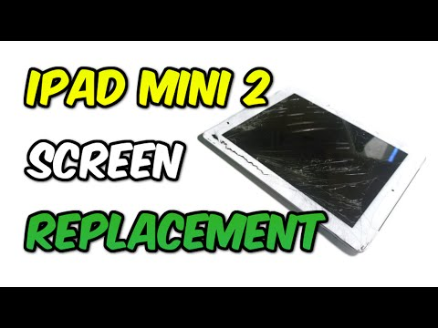 iPad Mini 2 Screen Replacement