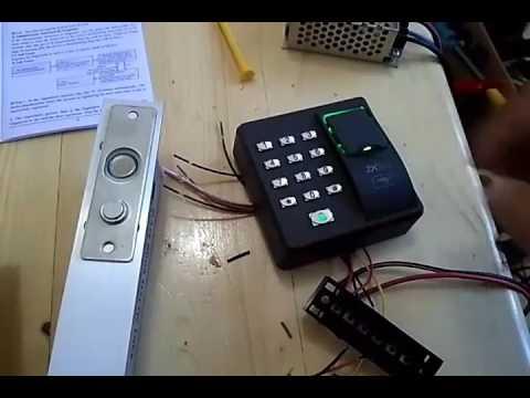fingerprint access control electric lock card