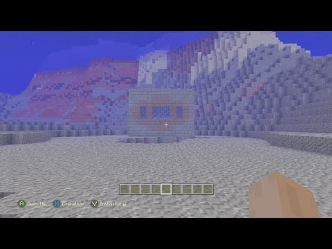 Minecraft Xbox 360/PS3 - Coolest Seed Ever! - Underwater End Portal, 2 Mesa Biomes, 2 Villages