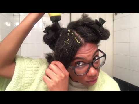 Natural Hair : Shea Butter & Olive Oil Pre Poo
