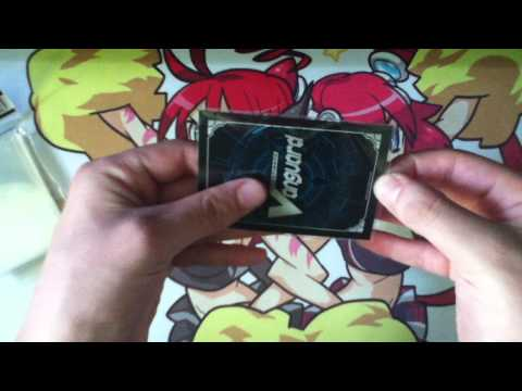 Cardfight!! Vanguard - Accessory (Sleeves, Deck Box) Reviews with HerO