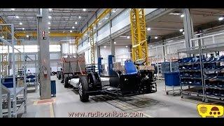 Como se fabrica um ônibus 100% elétrico da BYD