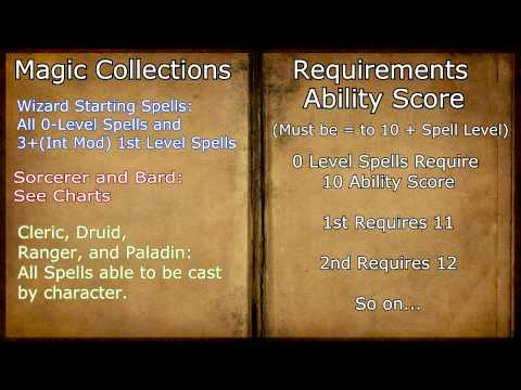 How Spells Work for Beginners (D&D 3.5 and Pathfinder)