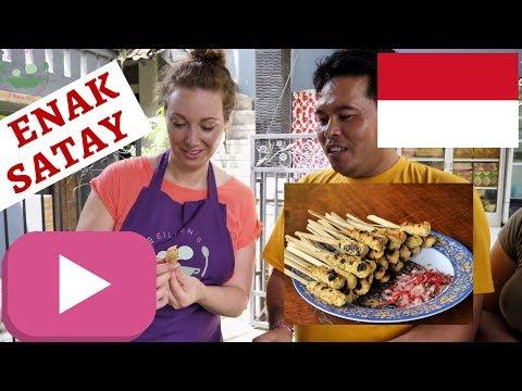 Balinese CHICKEN SATAY Lilit Skewers RECIPE