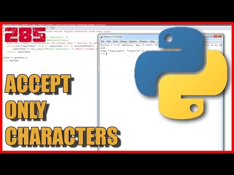 PYTHON Accept only one character as input