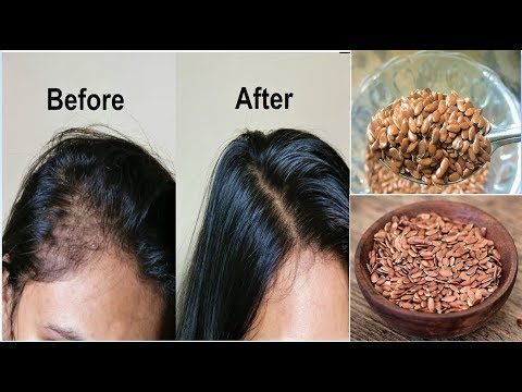 Your Hair Will Grow Like Crazy! Just Eat 1 TableSpoon Daily for Hair Growth, FLAXSEEDS for Long Hair