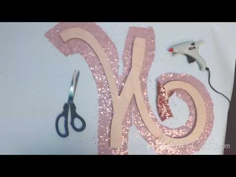 Rose Gold Monogram - Nursery Letter - Wedding Decoration