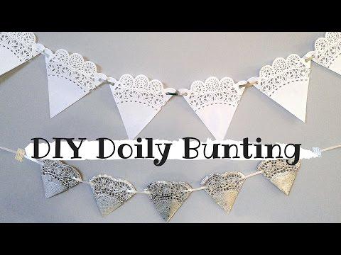 Doily Bunting - CLASSY & CHEAP