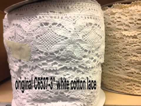 cotton lace  trim clearance 100% cotton In Canada
