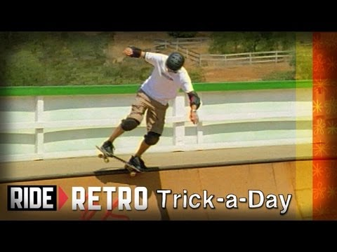 How-To Skateboarding: 5-0 Grind on Mini Ramps with Tony Hawk & Colin McKay