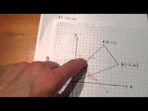 Determine Circumcentre of a Triangle