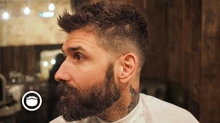 How To Get Crop Hairstyle From Your Barber    Carlos Costa