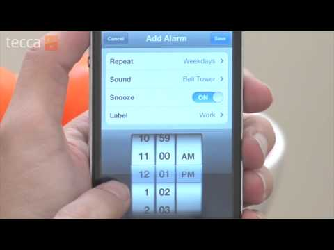 Just Show Me: How to set an alarm on your iPhone
