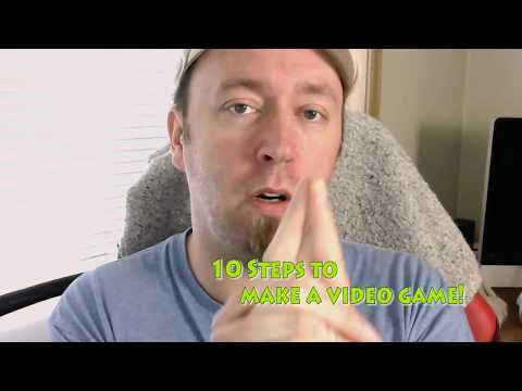 10 Steps to Make a Video Game