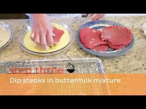 How to Make Chicken Fried Steak - Step 1