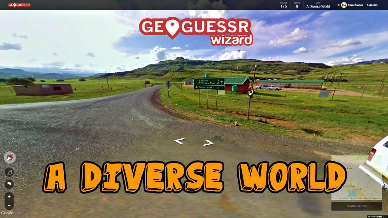 """Perfect score on Geoguessr """"A Diverse world"""" in 31.42"""