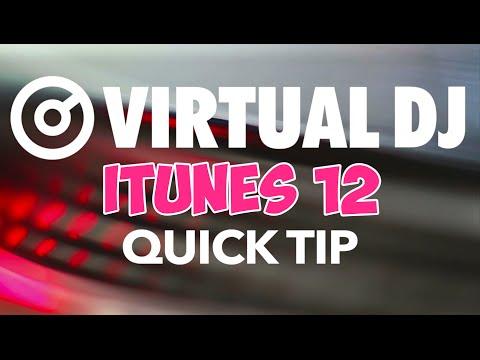 iTunes 12 Problem and Fix - VirtualDJ 8 Quick Tip #26