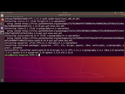 Python Import Error ModuleNotFoundError: No Module Named Paramiko In Ubuntu Linux