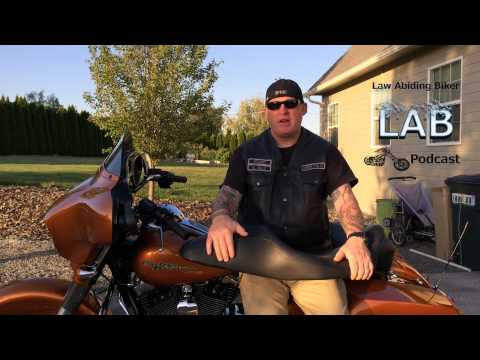 Install Harley Davidson Hammock Heated Touring Seat & Review | Biker Motorcycle Podcast