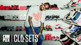 Chris Brown Shows Off The Most Insane Sneaker Collection We
