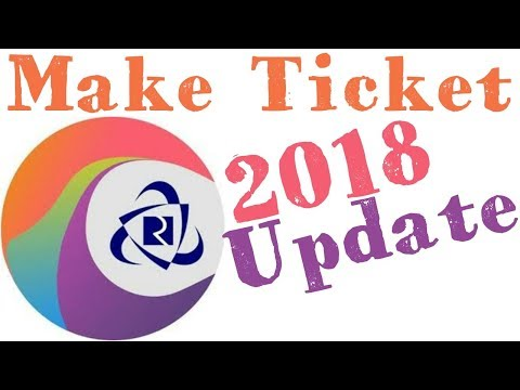 Make ticket using irctc connect 2018 update