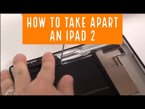 iPad 2 Disassembly Teardown Take Apart