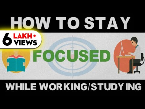 HOW TO CONCENTRATE ON STUDIES or WORK (HINDI) - DEEP WORK PRINCIPLE