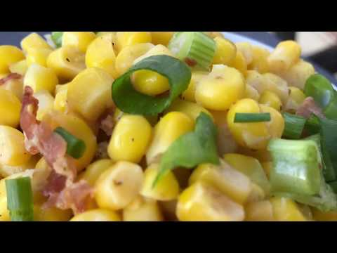 Southern Fried Corn Recipe - How to Make Fried Corn with Bacon