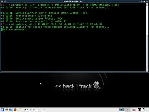 Cracking WEP Wireless (WiFi) AP Networks Key - BackTrack3 Linux and Aircrack-ng Tutorial