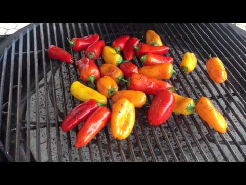 Roasting Sweet Peppers on the Kamado Grill with Chad Harris