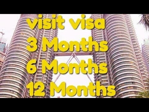 How to Get Malaysia Multiple visit visa - 3 Months 6 Month 12 Months