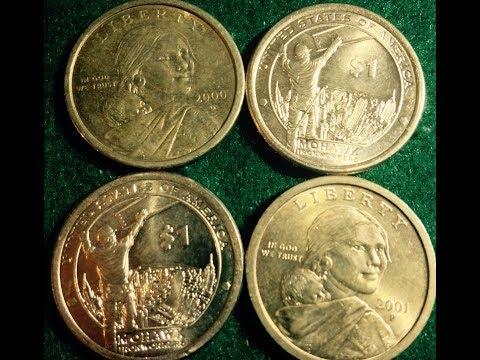 Sacagawea Golden Dollar Coins (2000-Date)