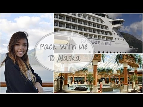 Packing for Alaska Cruise | Summer Vacation 2014
