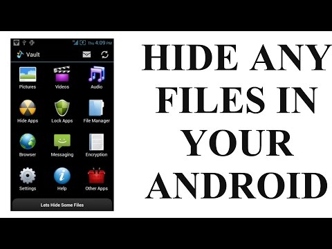 Hide Any Files In Your Android Smartphone | Hindi/English | Audio Manager