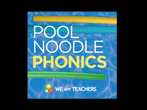 Pool Noodle Phonics