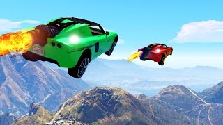 MISSION IMPOSSIBLE: FLY 10 MILES! (GTA 5 Funny Moments)