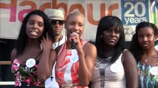 Miss Teen Bermuda Contestants At Harbour Nights, July 25 2012