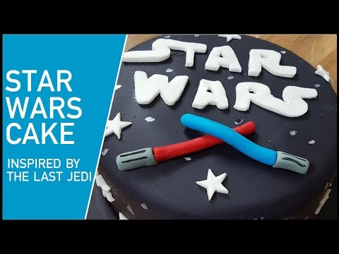 How to Make a Star Wars Cake Inspired by the release of The Last Jedi Star Wars Film