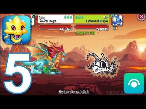 Dragon City - Gameplay Walkthrough Part 5 - Level 15-16 (iOS, Android)