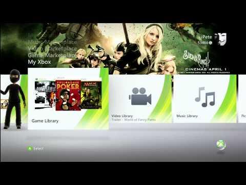 Sucker Punch Theme (Xbox HD)