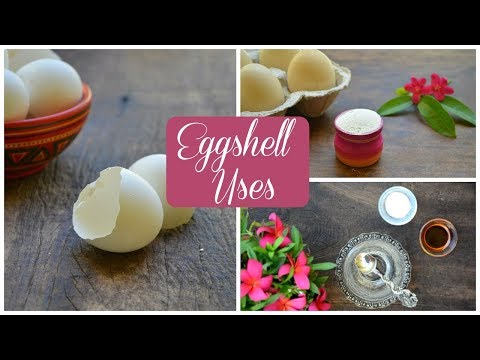 Get Shiny Hair, Skin & Teeth Using Eggshells - After Watching This You Will Never Throw It Away !
