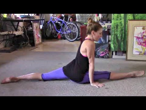 How To Do Gymnastics Splits For Beginners With Coach Meggin!