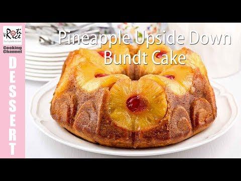 Pineapple Upside Down Bundt Cake | Roti n Rice