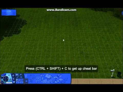 The Sims 3 | CHEAT: How do you get the cheat bar up?
