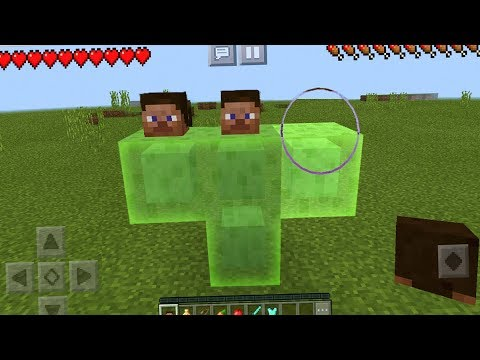 How to Spawn the SLIME Boss in Minecraft Pocket Edition (Boss Fight)