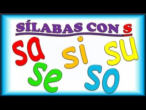 Xxx Mp4 Sílabas Con S Para Niños Sa Se Si So Su Ejemplos Y Música Syllables In Spanish For Children 3gp Sex