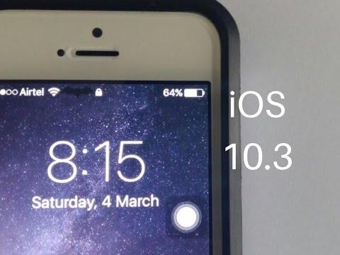 How to customize status bar no jailbreak iOS 10.3