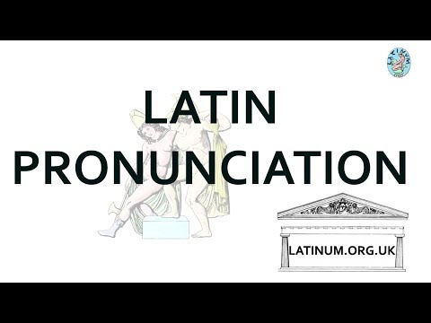 Latin Pronunciation - Traditional Pronunciation versus Classical