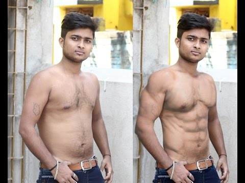 Photoshop Tutorial- Get 6 Pack Abs in Photoshop